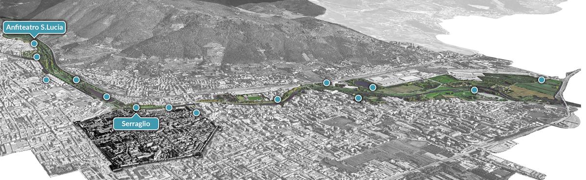 Mappa delle stazioni già realizzate