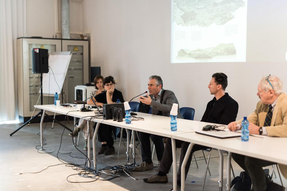 Danilo Presentini illustra alcune delle idee migliorative presentate da FIAB sui percorsi pedociclabili del lungo Bisenzio