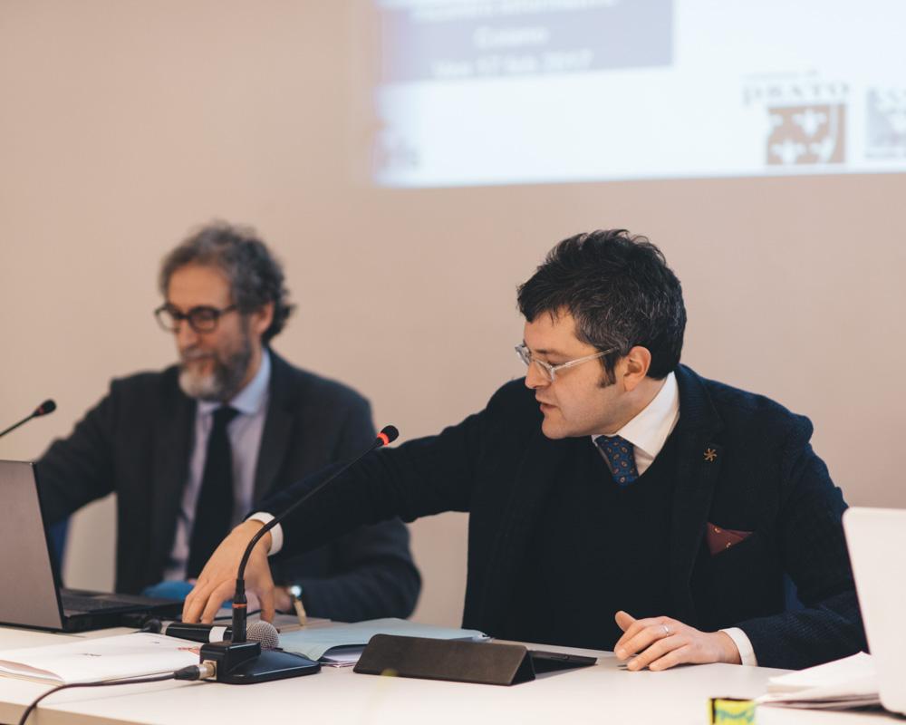 L'Assessore alla Cultura Simone Mangani introduce il Regolamento per la gestione condivisa dei beni comuni urbani.